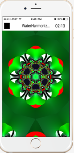 Water Harmonizer generates fractal image.